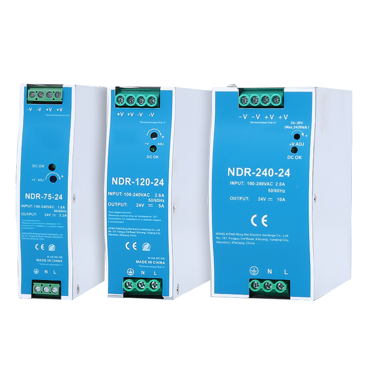 NDR-75W工业导轨电源