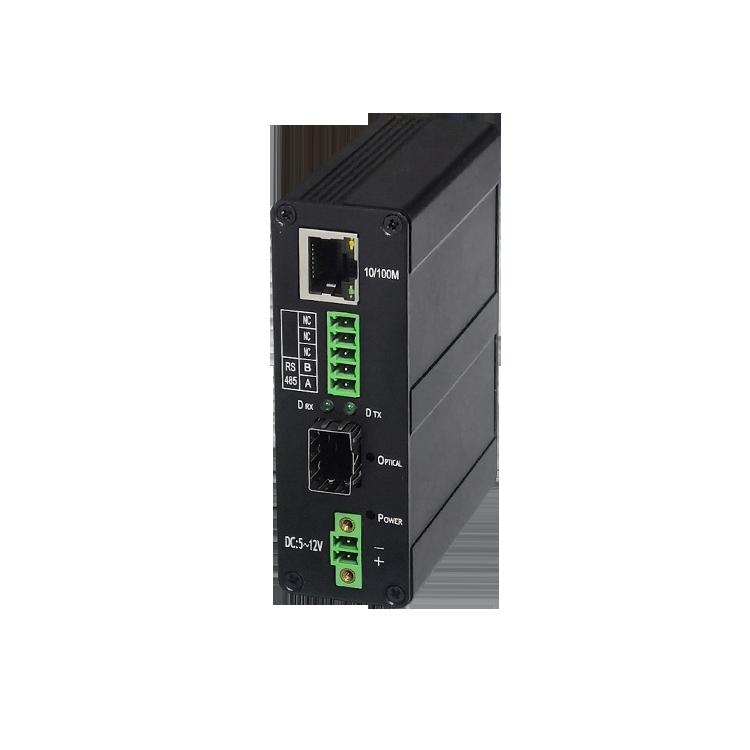 工业RS232串口+百兆以太网收发器