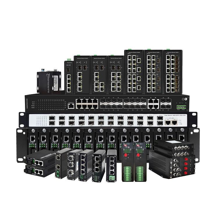准工业级安防交换机1光2电千兆